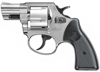 Röhm RG59 vernickelt Schreckschussrevolver 9mm R.K.