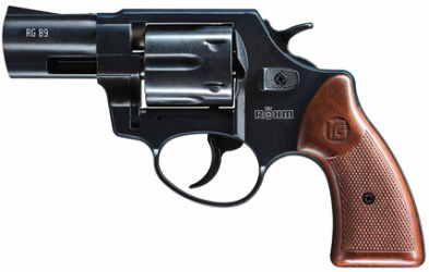 Röhm RG89 brüniert Schreckschussrevolver 9mm R.K.