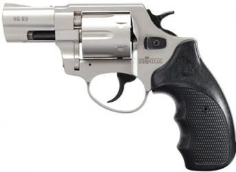 Röhm RG89 vernickelt Schreckschussrevolver 9mm R.K.