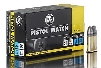 .22lfB RWS Pistol Match