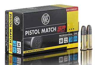 .22lfB RWS Pistol Match SR
