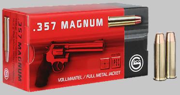 .357 Magnum Geco Vollmantel Flachkopf 158gr