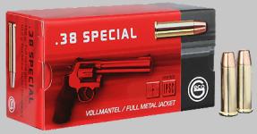 .38 Special Geco Vollmantel Flachkopf 158gr