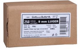 9MM LUGER S&B FMJ Schüttpackung 124GR