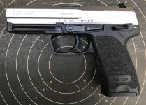 Heckler & Koch USP Stainless 9mm Para